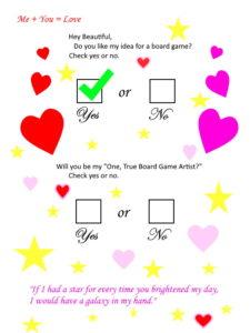 Board Game Artist Note