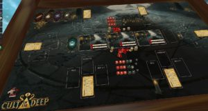 Playtest of a board game, Cult of the Deep